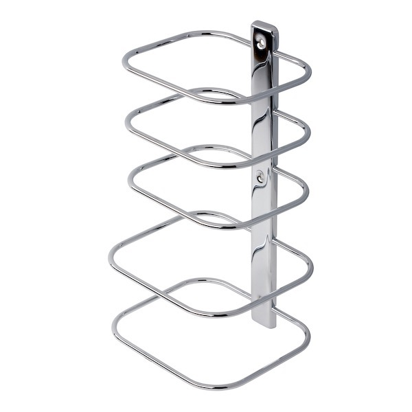 Chrome Towel Rack Wall Mounted Part - 25: Towel Stand, Geesa 125, Contemporary Chrome Multi-Level Wall Mounted Towel  Rack