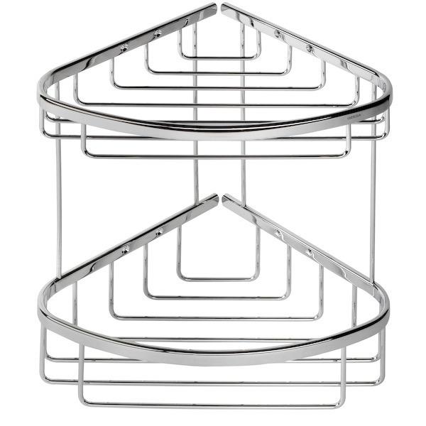 Shower Basket Geesa 183 Chrome 2 Tier Double
