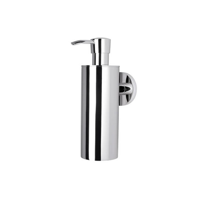 Soap Dispenser, Geesa 6527-02, Wall Mounted Chrome Soap Dispenser