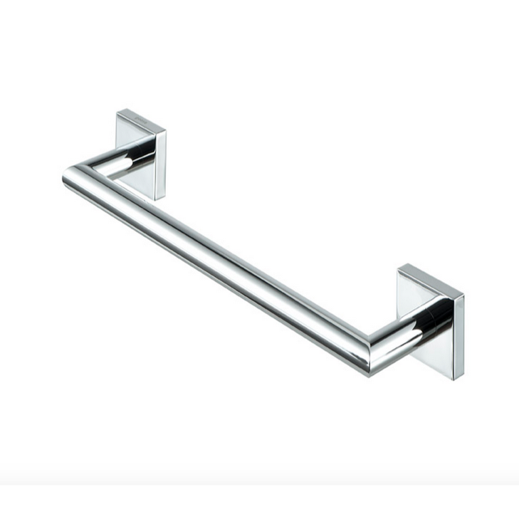 Geesa 6806-02 By Nameek\'s Nelio Chrome Brass Grab Bar - TheBathOutlet