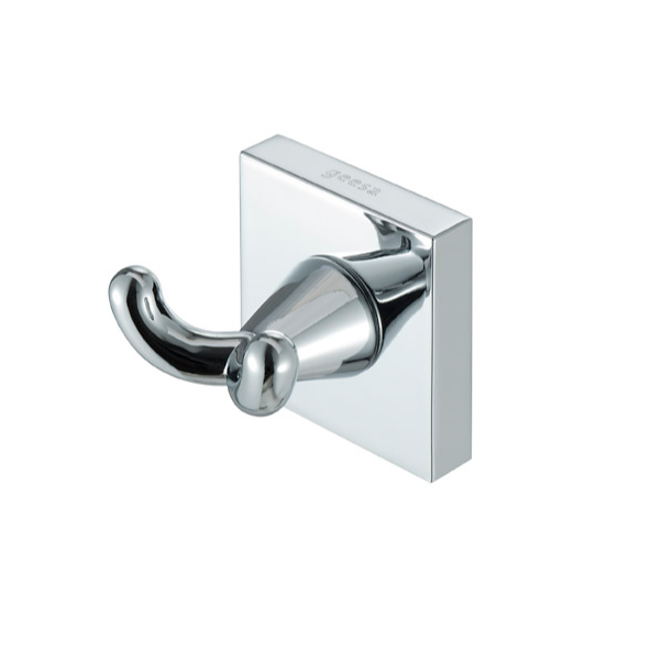 Bathroom Hook, Geesa 6815-02, Chrome Brass Bathroom Hook