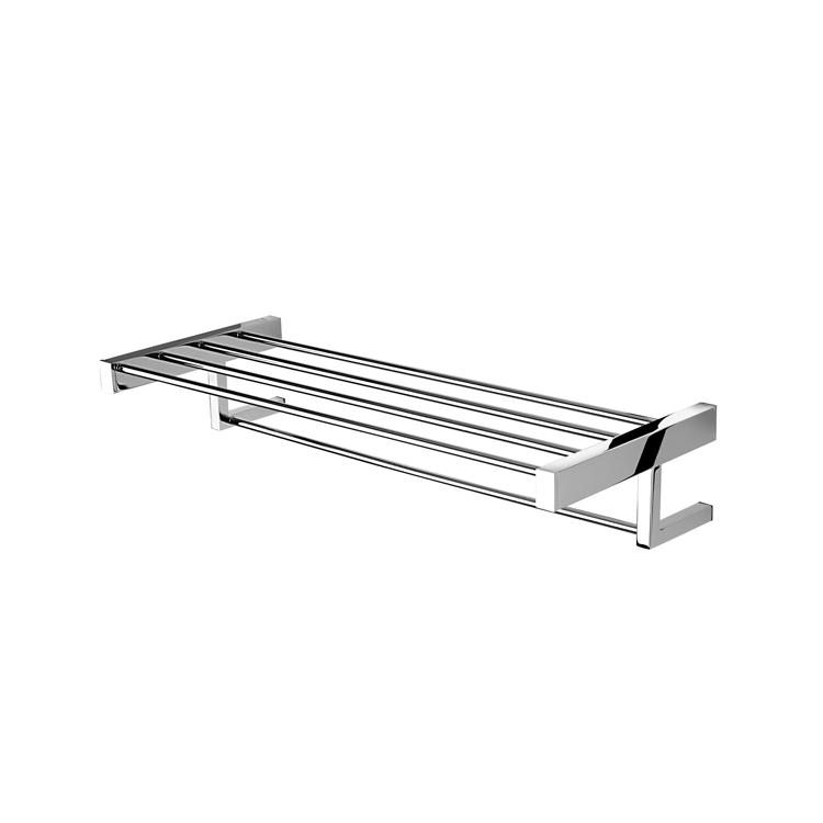 Train Rack, Geesa 3552-02, Chrome Towel Rack or Towel Shelf