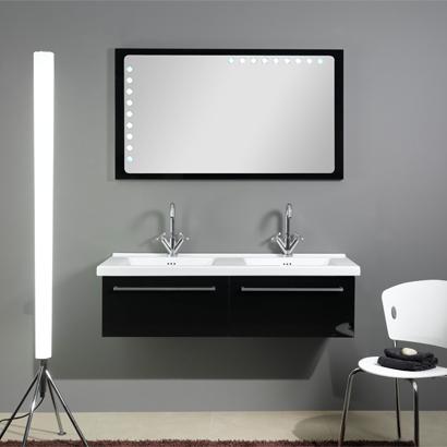 48 Inch Dual Bathroom Vanity Set