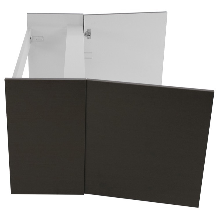 vanity cabinet iotti dh08 39 inch wall mount wenge bathroom vanity