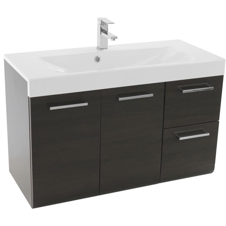 Wall Mounted Bathroom Vanity Sink 38, 38 Bathroom Vanity