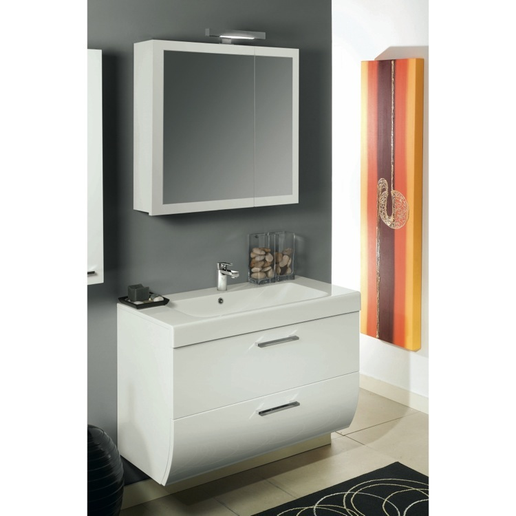 Bathroom Vanity, Iotti NN1, 30 Inch Bathroom Vanity Set