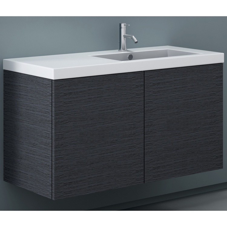 Bathroom Vanity, Iotti SE03C, Vanity Cabinet with Self Rimming Sink and 2 Doors