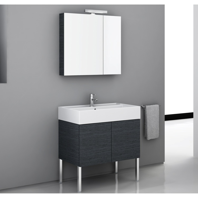 32 inch bathroom vanity set, iotti sm03 - thebathoutlet 32 Inch Bathroom Vanity