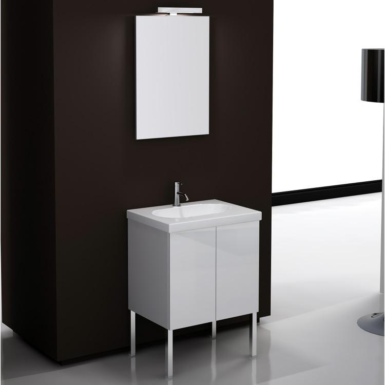 24 Inch Bathroom Vanity Set