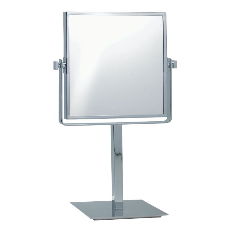 Makeup Mirror, Nameeks AR7717-CR-3x, Square Double Sided 3x Makeup Mirror
