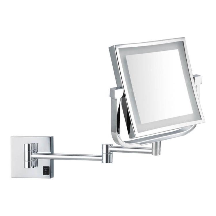 Makeup Mirror, Nameeks AR7730-CR-5x, Double Face LED 5x Magnifying Mirror, Hardwired