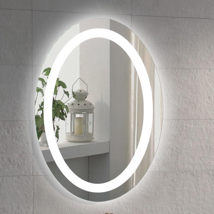 Vanity Mirror Nameeks Arrov 20 X 28 Inch Illuminated Oval