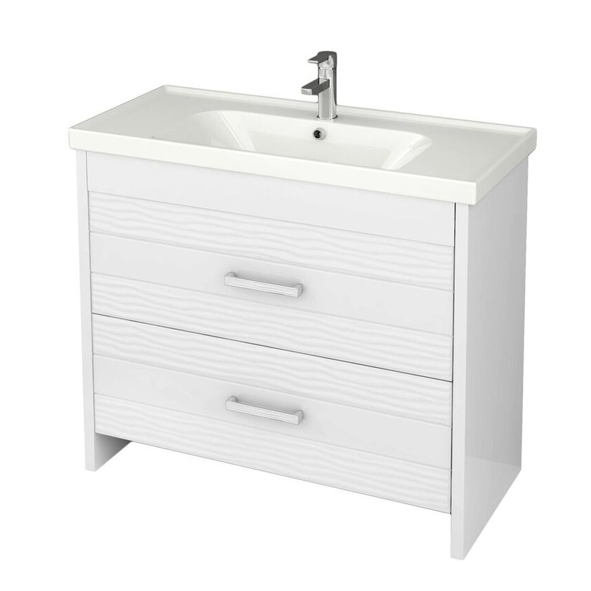 bathroom vanity nameeks lot f02 39 inch floor standing white vanity