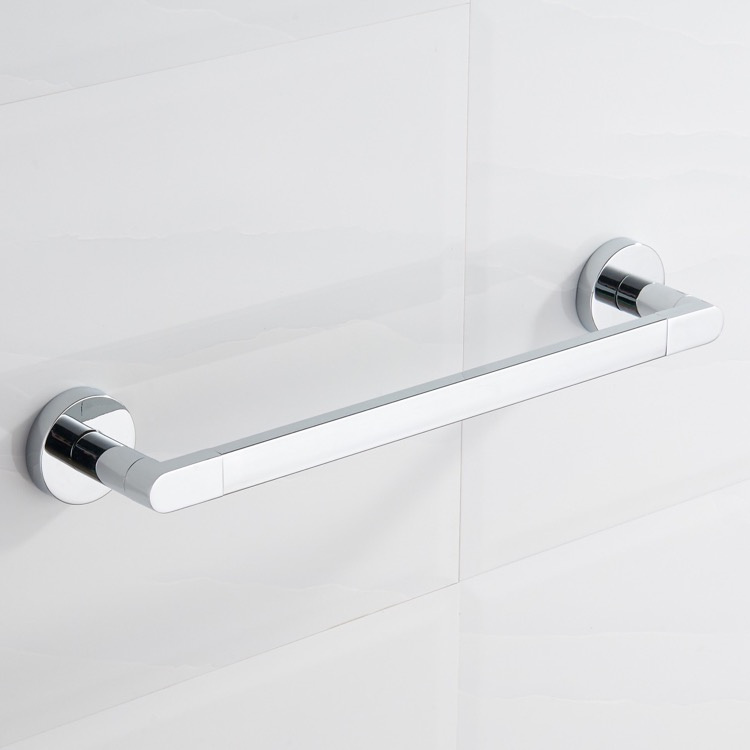 Towel Bar, Nameeks NCB78, 17 Inch Polished Chrome Towel Bar