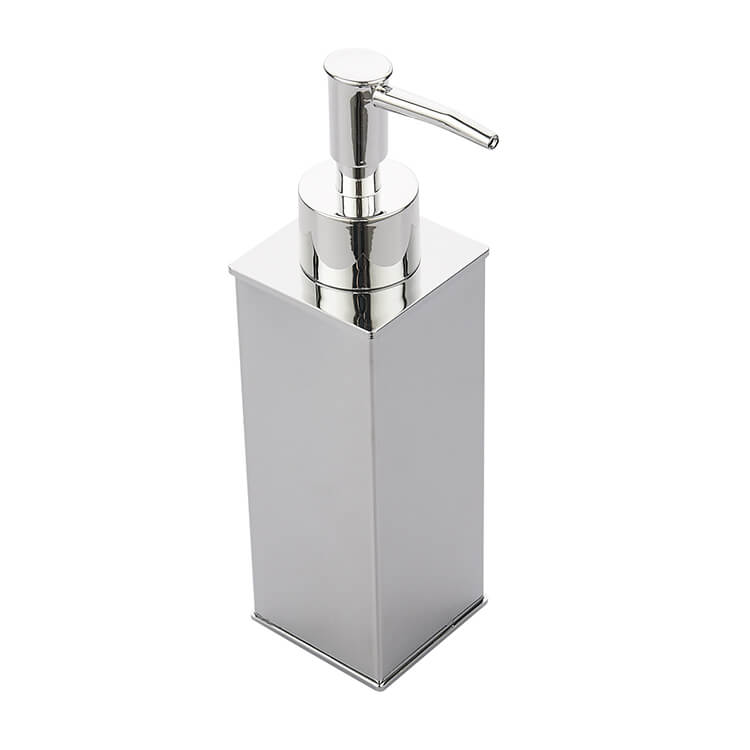 Nameeks Ncb82 By Nameek S General Hotel Square Modern Chrome Soap Dispenser Thebathoutlet