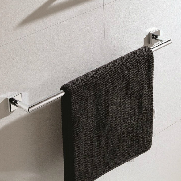 Towel Bar, Nameeks NNBL001, 25 Inch Modern Chrome Towel Bar