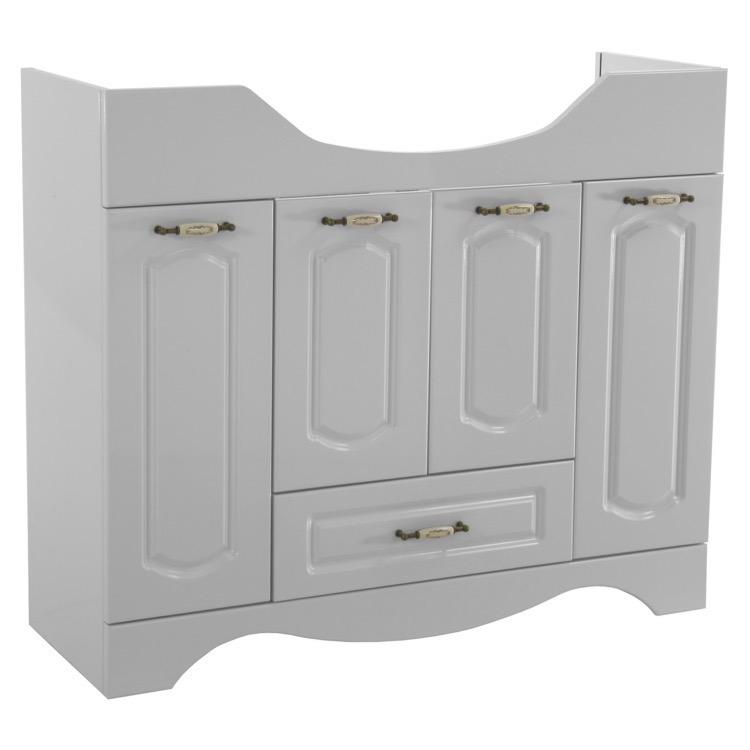 bathroom vanity nameeks cla f03 39 inch floor standing white vanity