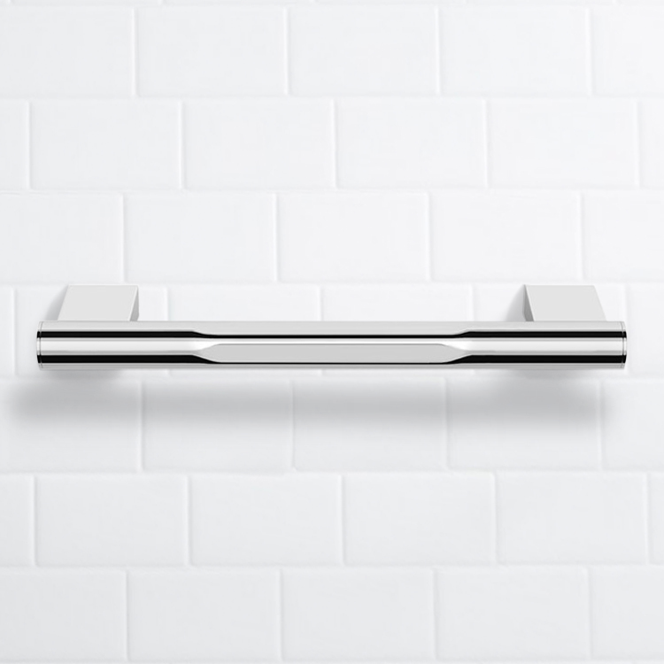 Grab Bar, Nameeks NNBL0023, 12 Inch Polished Chrome Grab Bar