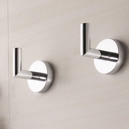 Bathroom Hook, Nameeks HC08, Set of Polished Chrome Bathroom Hooks