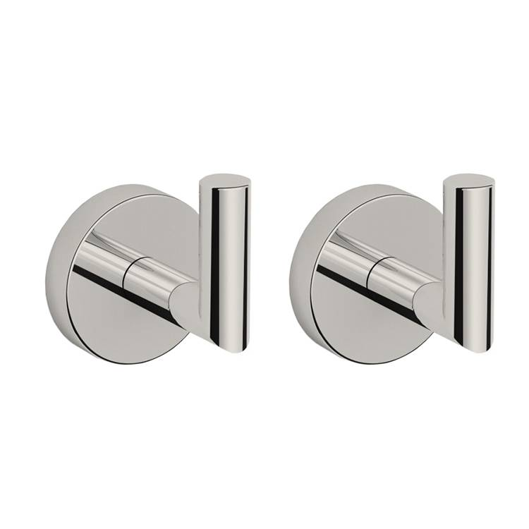 Bathroom Hook, Nameeks HC09, Set of Satin Nickel Bathroom Hooks