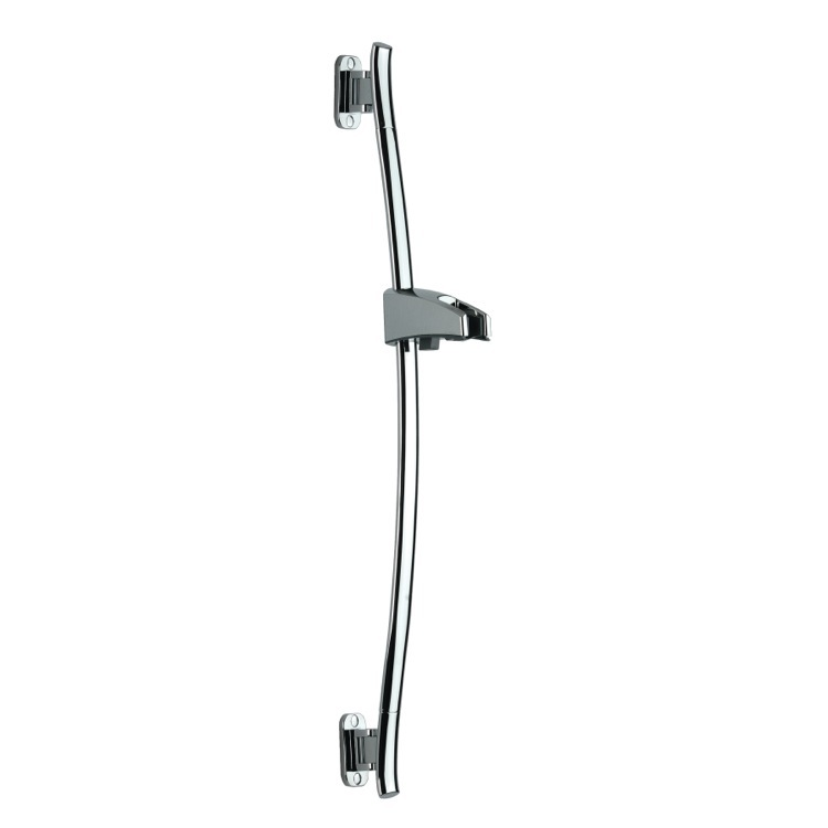 Shower Slidebar, Remer 313G, Swiveling Sliding Rail Available in Chrome Finish