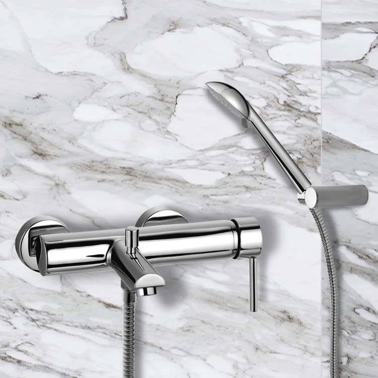 Ramon Soler US-3305R3 By Nameek\'s Drako Wall Mounted Tub Mixer with ...