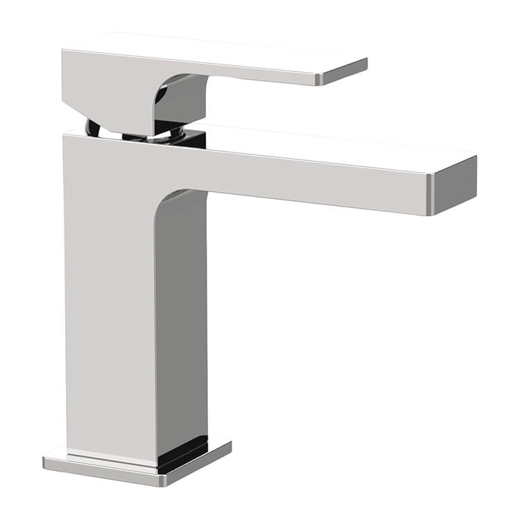 Bathroom Faucet, Remer AU11USNL-CR, Modern Single Handle Bathroom Faucet in Chrome