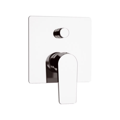 Diverter, Remer D09CR, Chrome Wall Mounted Diverter