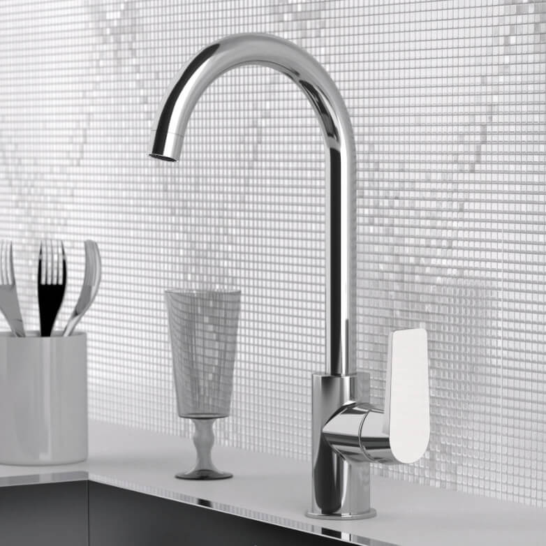 Remer D72 By Nameek\'s Dream One Hole Kitchen Faucet in Multiple ...