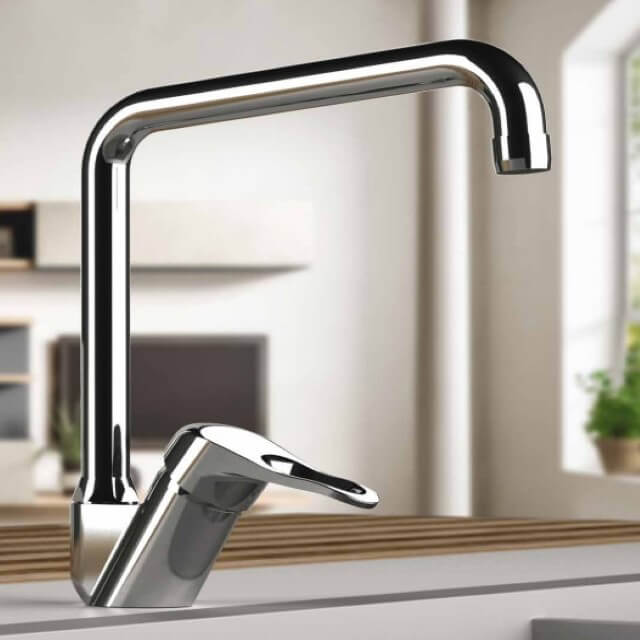 Remer K42U By Nameek\'s Kiss Chrome Sink Faucet with Swivel Spout ...