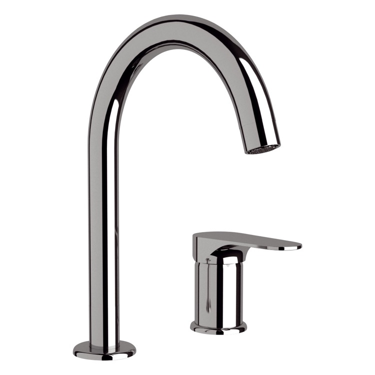 Bathroom Faucet Remer L57 Chrome Two Hole Sink