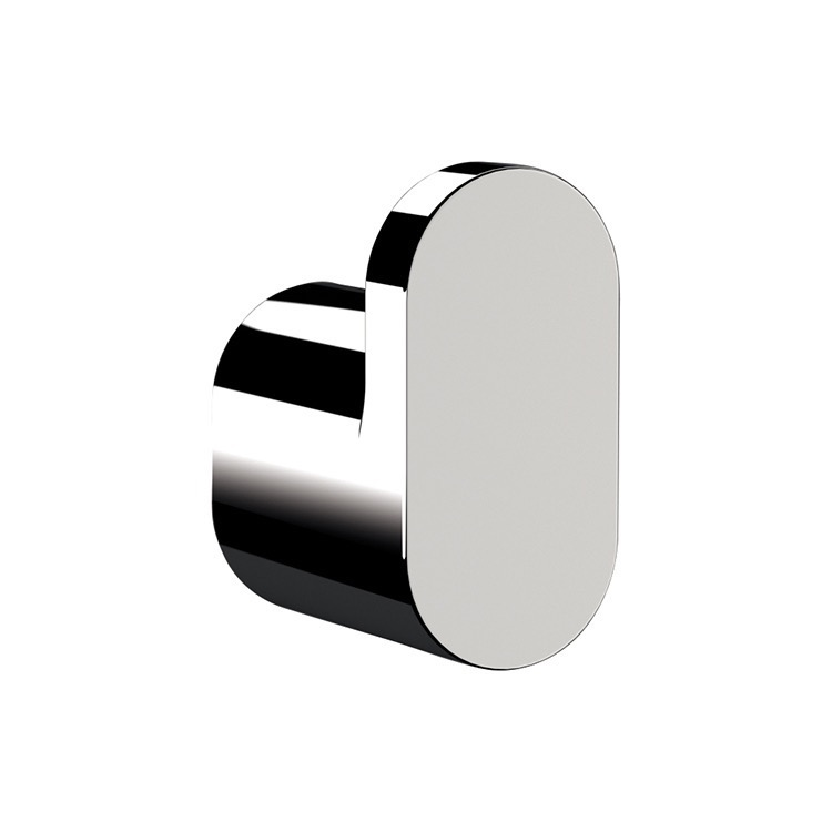 Bathroom Hook, Remer LN50, Polished Chrome Bathroom Hook