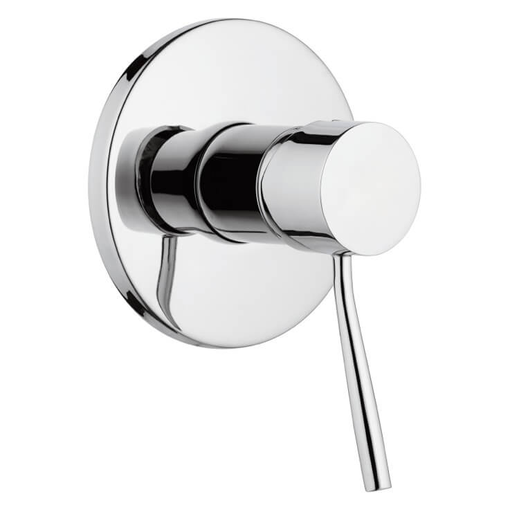 Remer N30 By Nameek\'s Minimal Plated-Brass Shower Mixer With Single ...