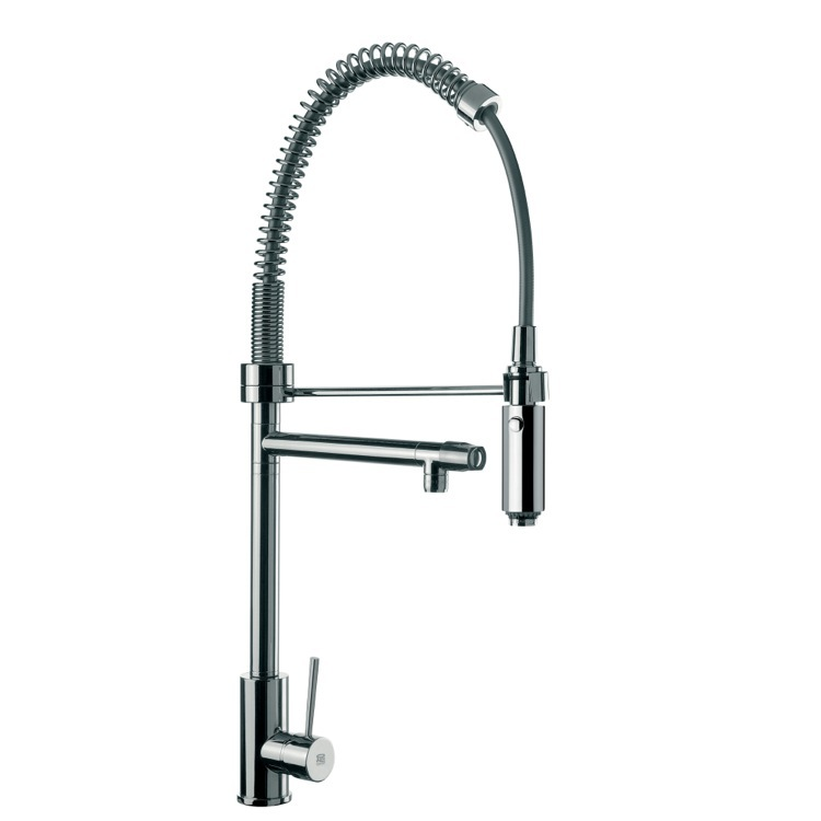 Remer N78US By Nameek\'s Gourmet Sink Mixer With Round Body, Double ...