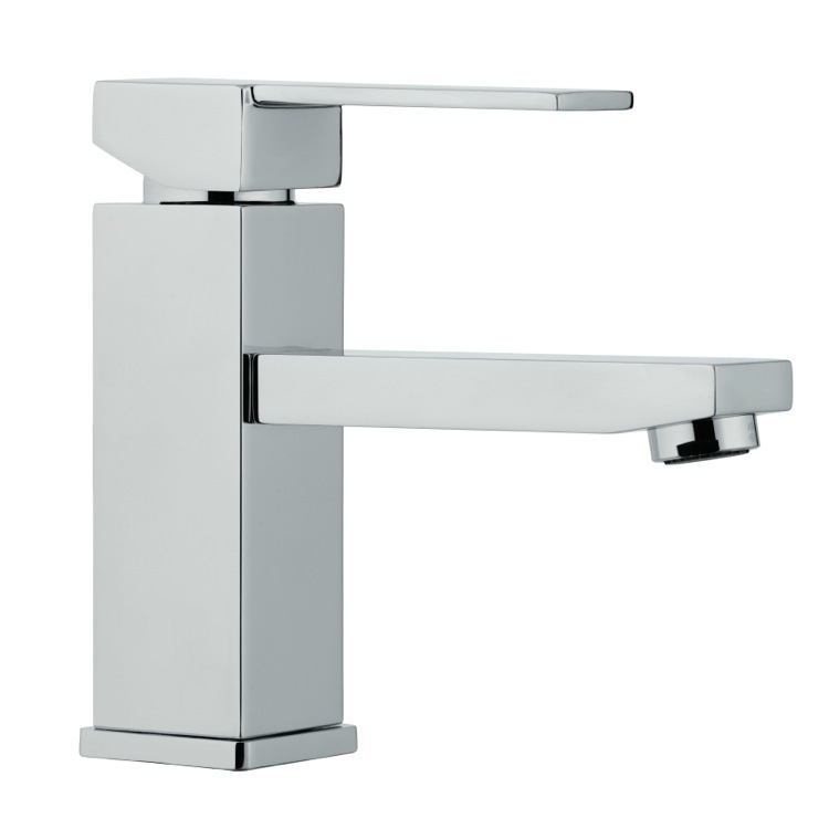 Bathroom Faucet, Remer Q11US, Single Lever Chrome Basin Mixer