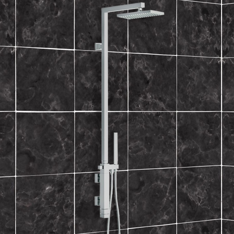 Remer QT36US By Nameek\'s Qubika Thermal Shower Set with Single Lever ...
