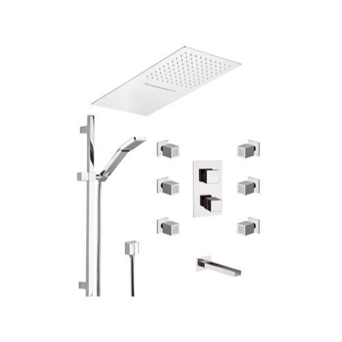 Remer Qtc95s04ufca By Nameeks Qubika Cascata Chrome Wall Mounted