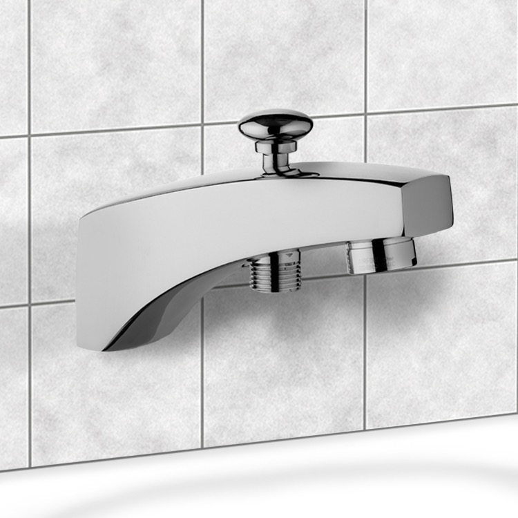 Remer 91D By Nameek\'s Ten Bathtub Spout with Diverter - TheBathOutlet