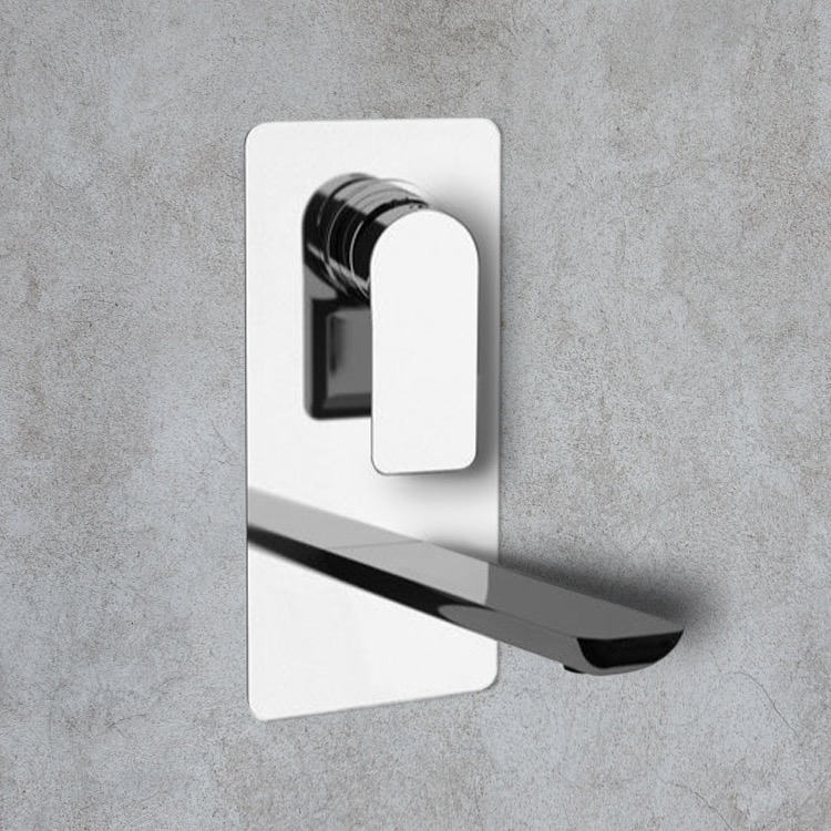 Remer I14 By Nameek\'s Infinity Chrome Wall Mounted Bathroom Faucet ...