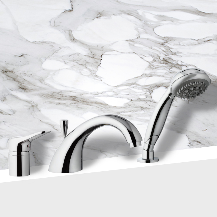 Remer K07 By Nameek\'s Kiss Roman Tub Faucet with Personal Shower ...