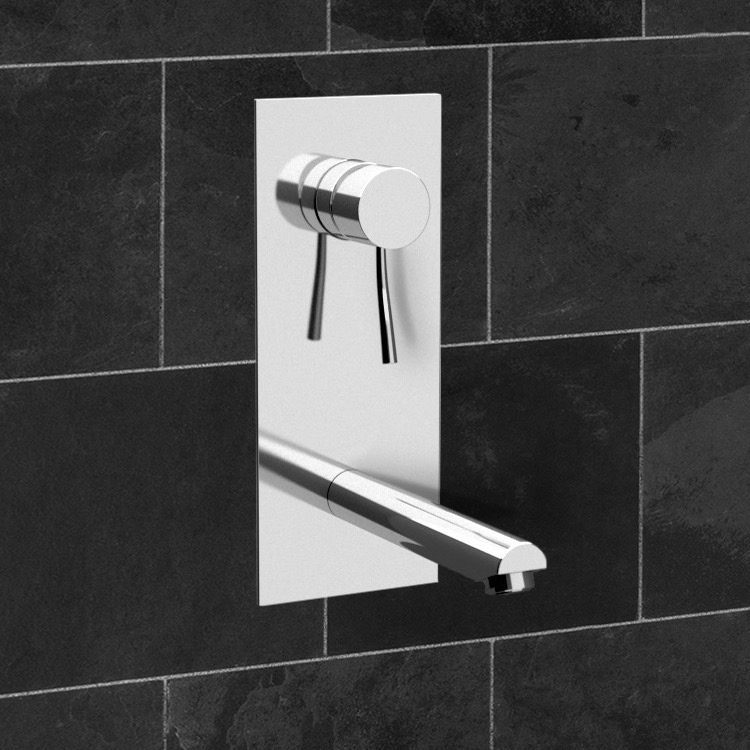 Remer N14 By Nameek\'s Minimal Chrome Single Lever Wall Mount ...