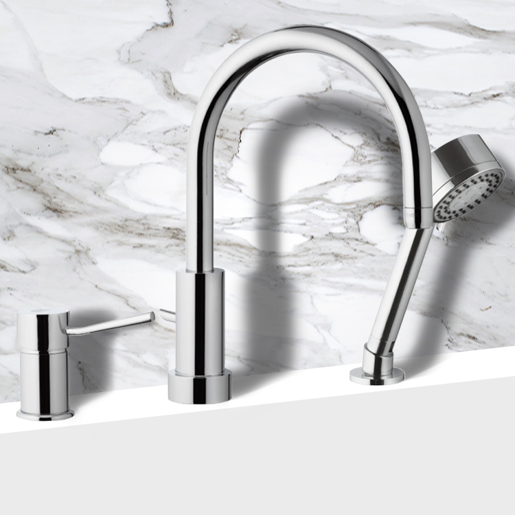 Remer N48319MO By Nameek\'s Minimal Roman Bathtub Faucet with Hand ...