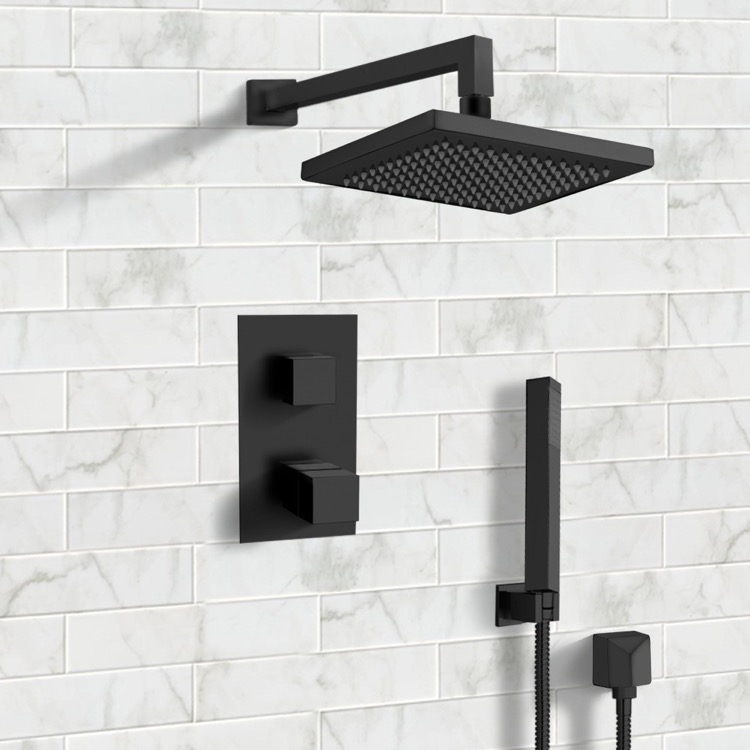 Remer Sfh33 By Nameek S Orsino Matte Black Thermostatic