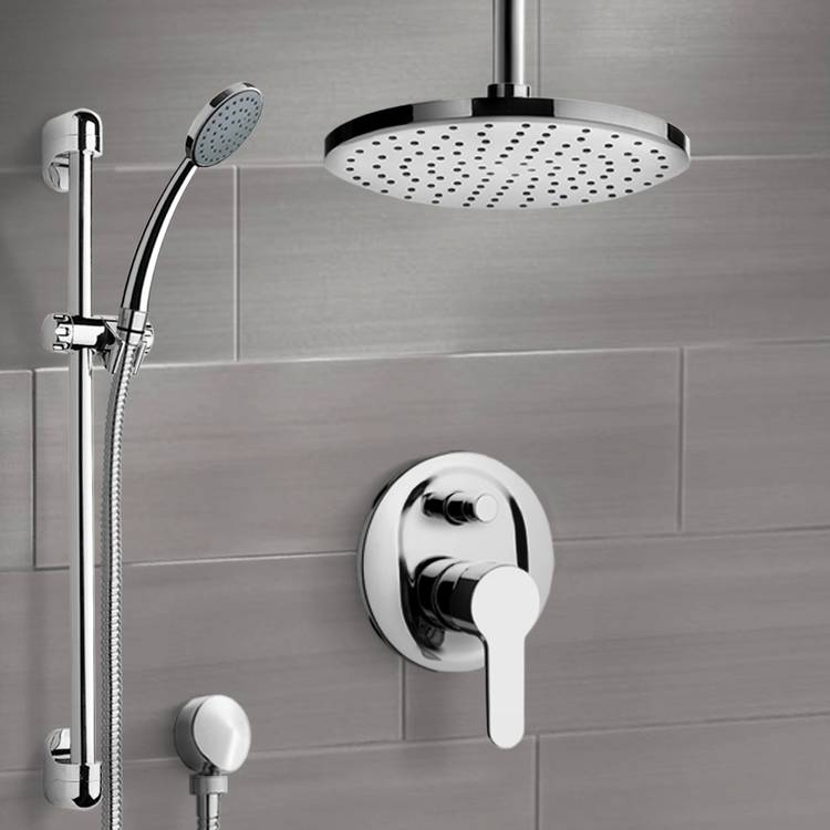 Shower Faucet, Remer SFR49-8, Chrome Shower Set with 8