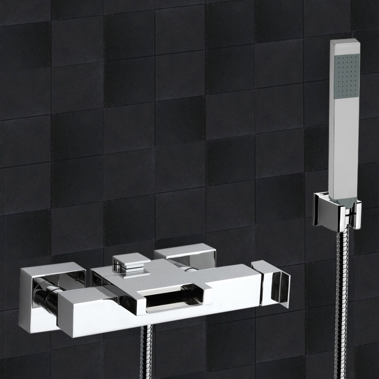 Waterfall Tub Spout With Diverter Zef Jam