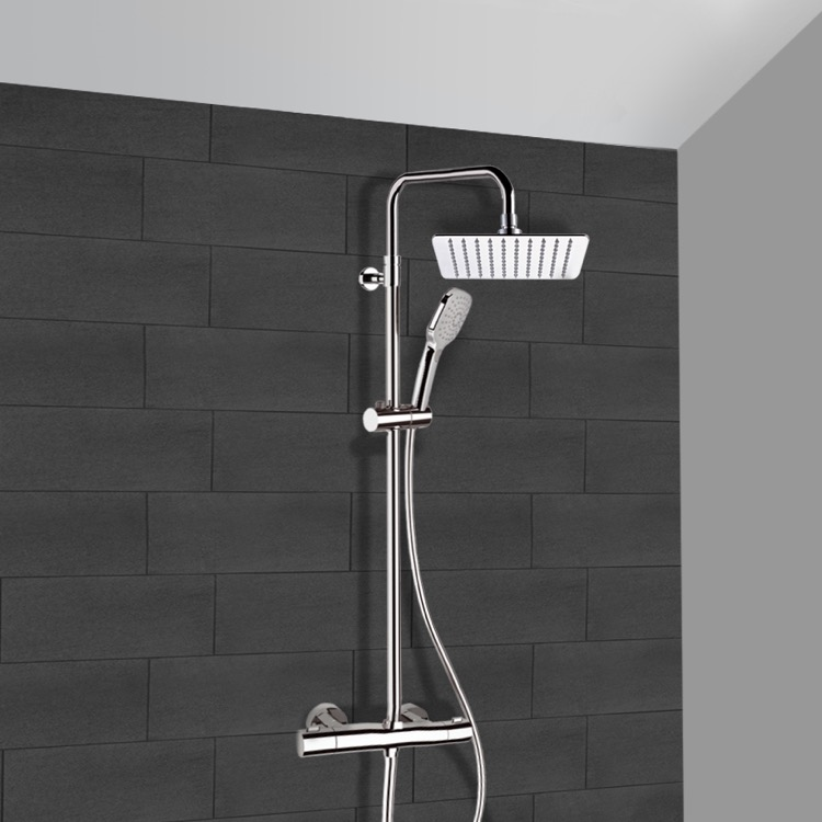 Remer SC504 By Nameek\'s Elegance Chrome Thermostatic Exposed Pipe ...