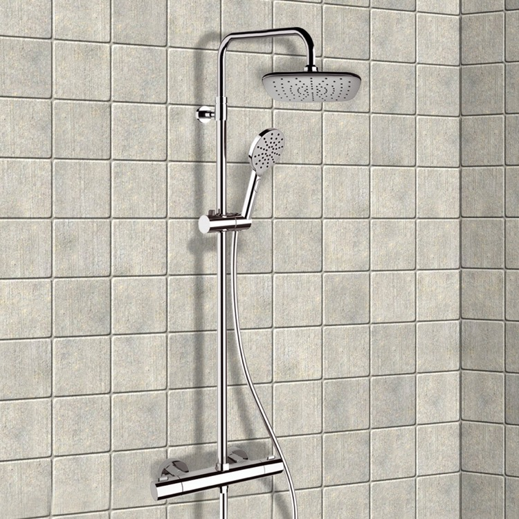 Remer SC507 By Nameek\'s Elegance Chrome Thermostatic Exposed Pipe ...