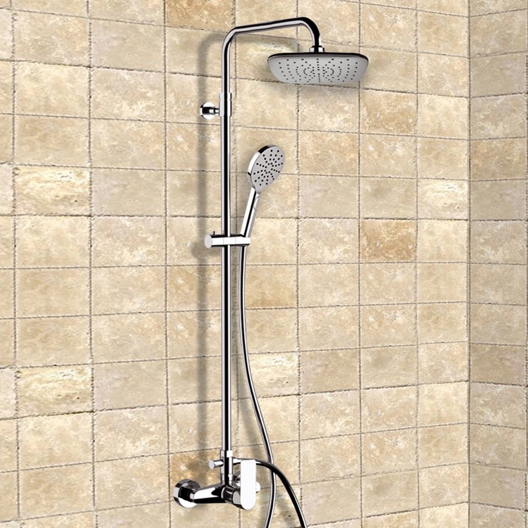 Exposed Pipe Showers - TheBathOutlet.com
