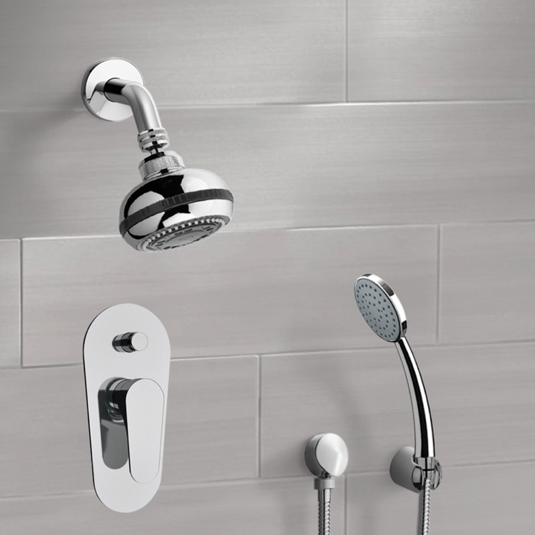 Remer SFH12 By Nameek\'s Orsino Chrome Shower System with Multi ...