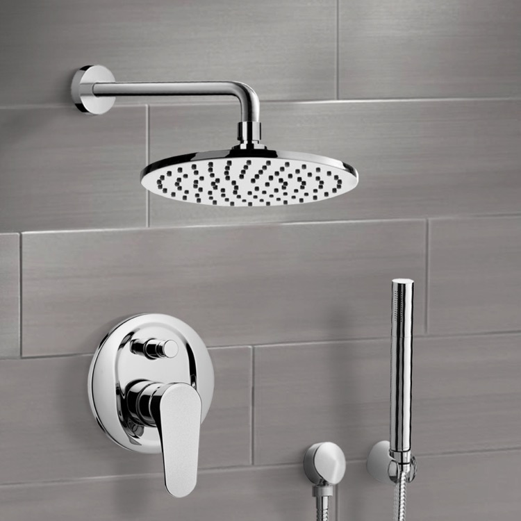 Shower Faucet, Remer SFH6538-CR, Chrome Shower System with 8
